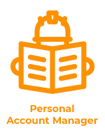 personal account manager logo